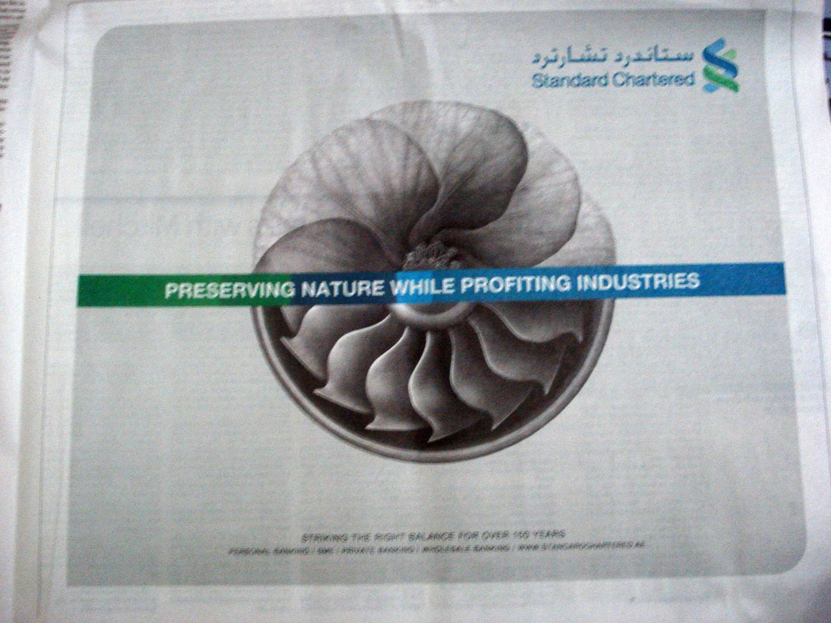 Standard Chartered Bank Corporate Ad